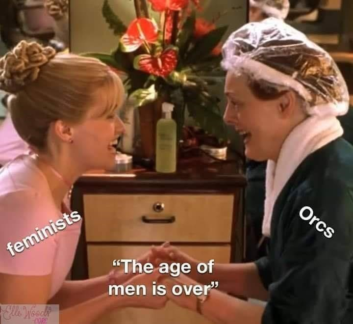 """Hair - Orcs feminists """"The age of men is over"""""""
