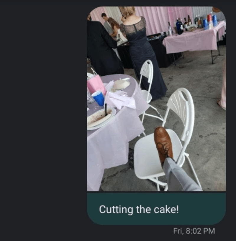 Product - Cutting the cake! Fri, 8:02 PM