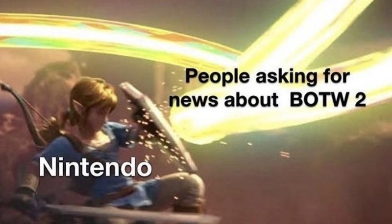 Love - People asking for news about BOTW 2 Nintendo