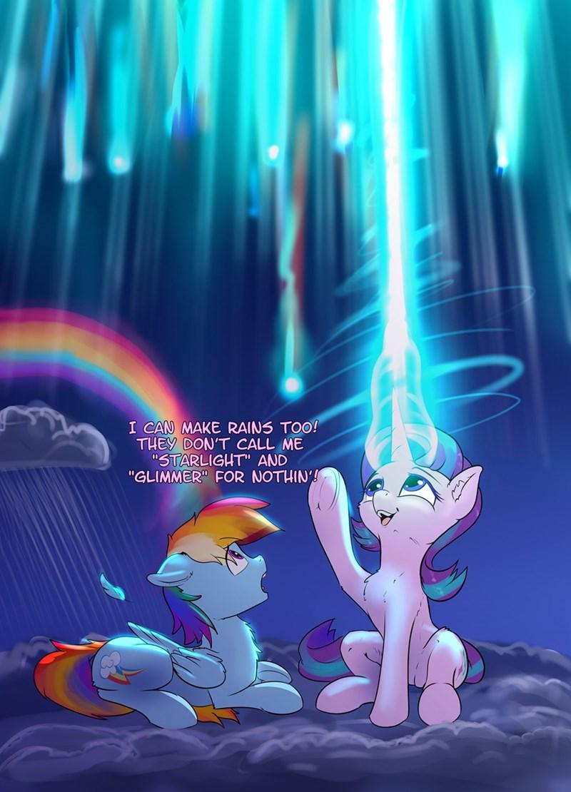 starlight glimmer xbi rainbow dash - 9540480000