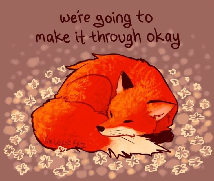 Red - we're going to make it through okay The Latest Kate 23