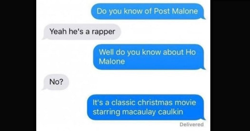 Funny and clever text message exchanges