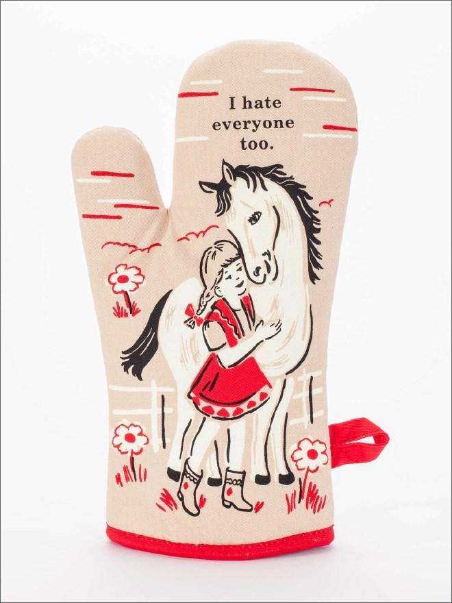 Hand - I hate everyone too.