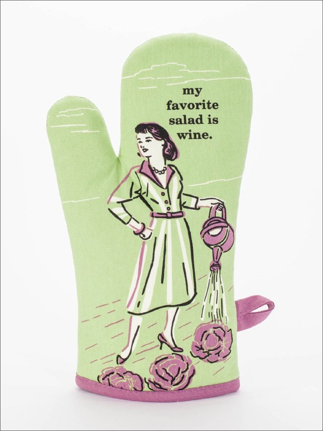 Green - my favorite salad is wine.
