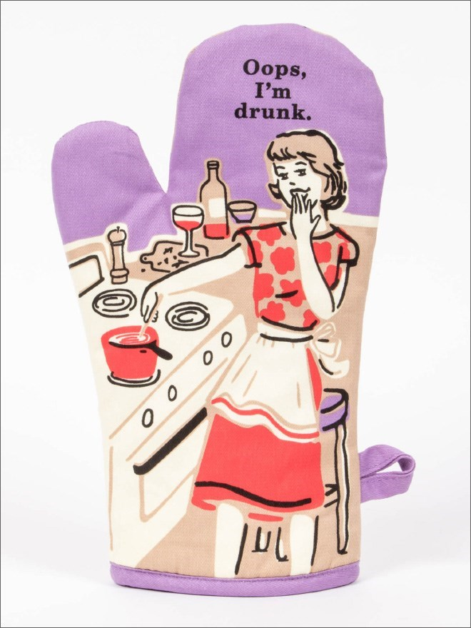 Cartoon - Oops, I'm drunk.