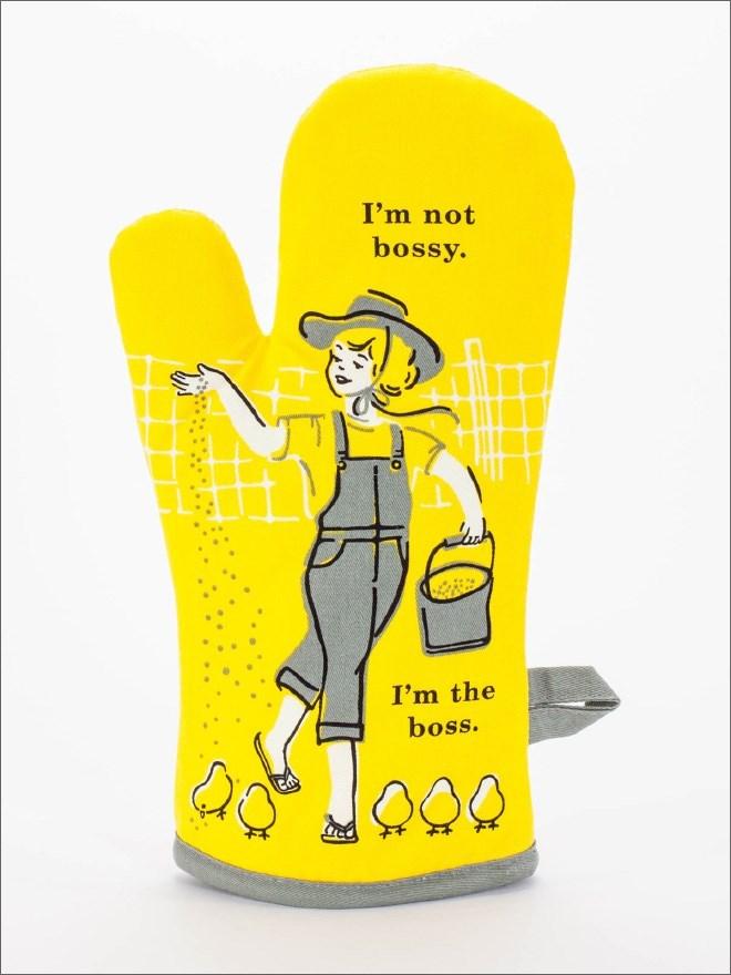 Yellow - I'm not bossy. I'm the boss.