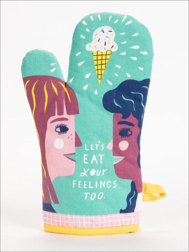 Illustration - LETS EAT XOur FEELINGS TOO.