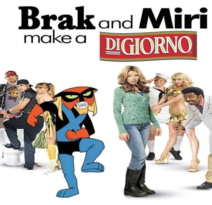 Cartoon - Brak and Miri make a DIGIORNO 22A Coy