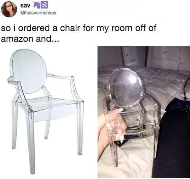 Chair - sav @itssavannahxox so i ordered a chair for my room off of amazon and...