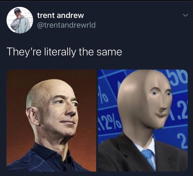 Face - trent andrew @trentandrewrld They're literally the same 50 12 2
