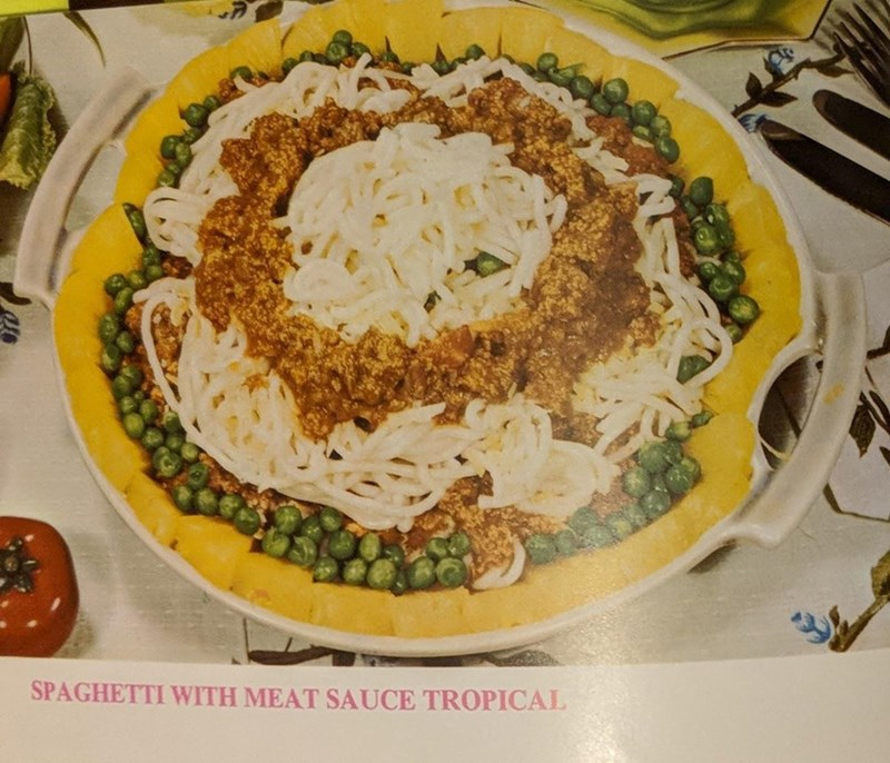 Dish - SPAGHETTI WITH MEAT SAUCE TROPICAL