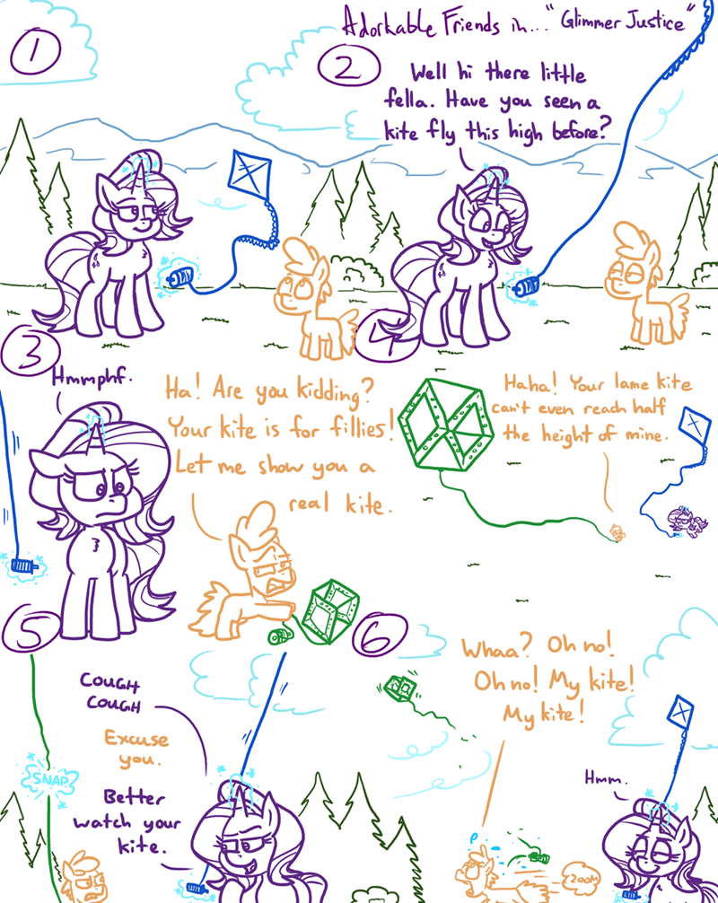 OC starlight glimmer adorkable twilight and friends - 9541682688