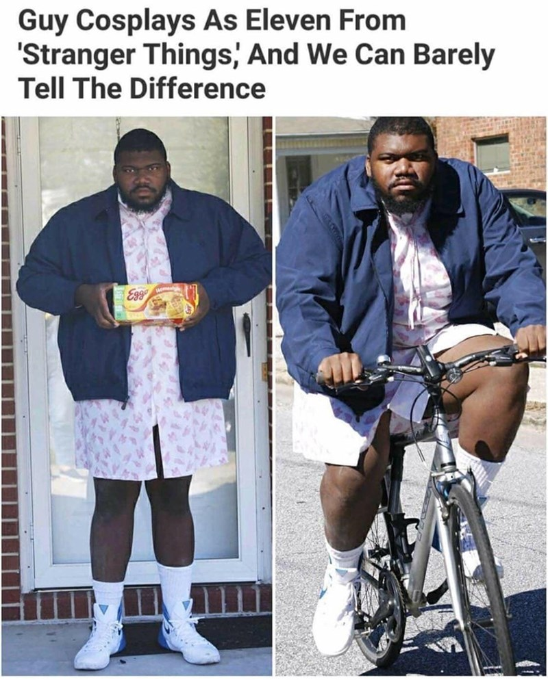 Outerwear - Guy Cosplays As Eleven From 'Stranger Things, And We Can Barely Tell The Difference Eg9 3350