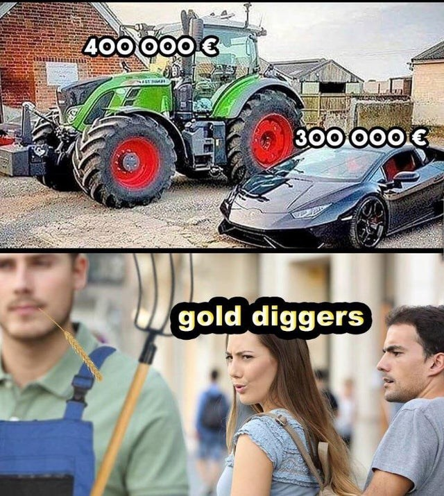 Vehicle - 400 000€ 300 000 € gold diggers