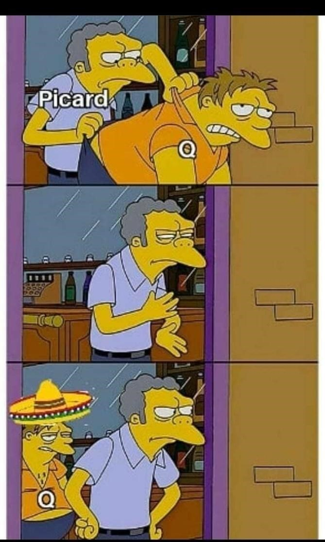 Cartoon - Picard