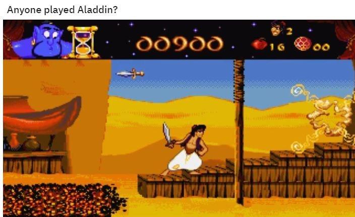Cartoon - Anyone played Aladdin? dd9dd 16 00