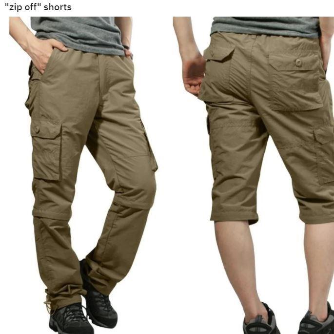 "Clothing - ""zip off"" shorts"