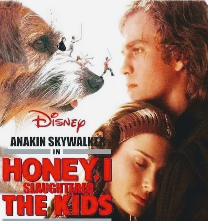 Movie - DISNEY ANAKIN SKYWALKER IN HONEY SIAUGHTERED THEIDS