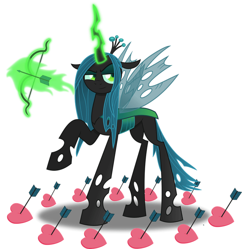 anime equestria chrysalis changelings - 9550316288