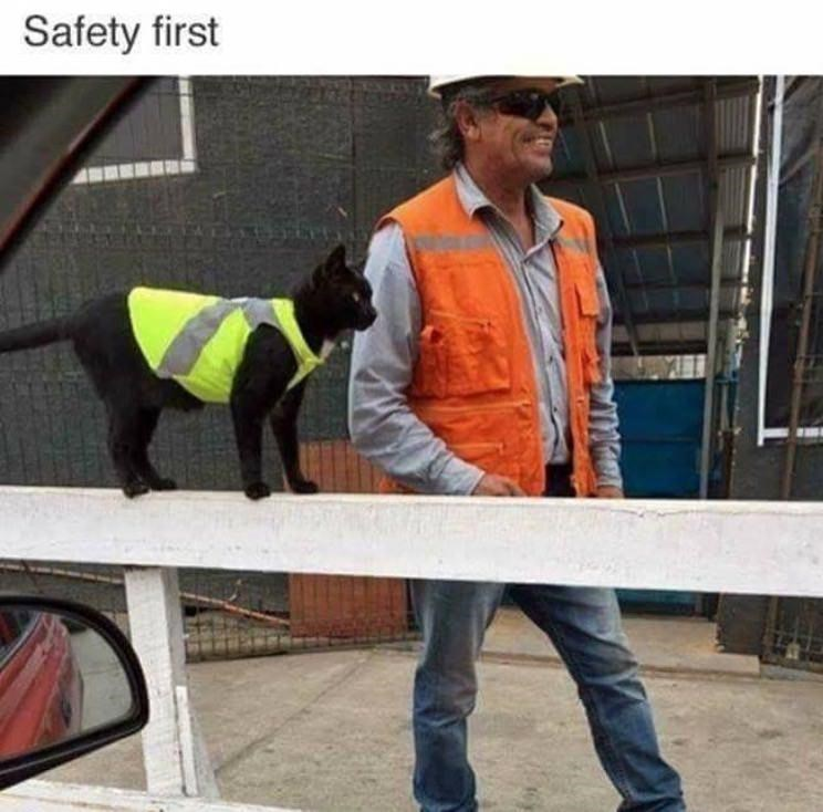 Clothing - Safety first