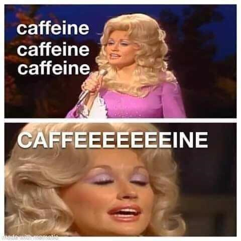 Hair - caffeine caffeine caffeine CAFFEEEEEEEINE