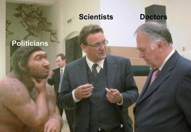 Suit - Scientists Doctors Politicians