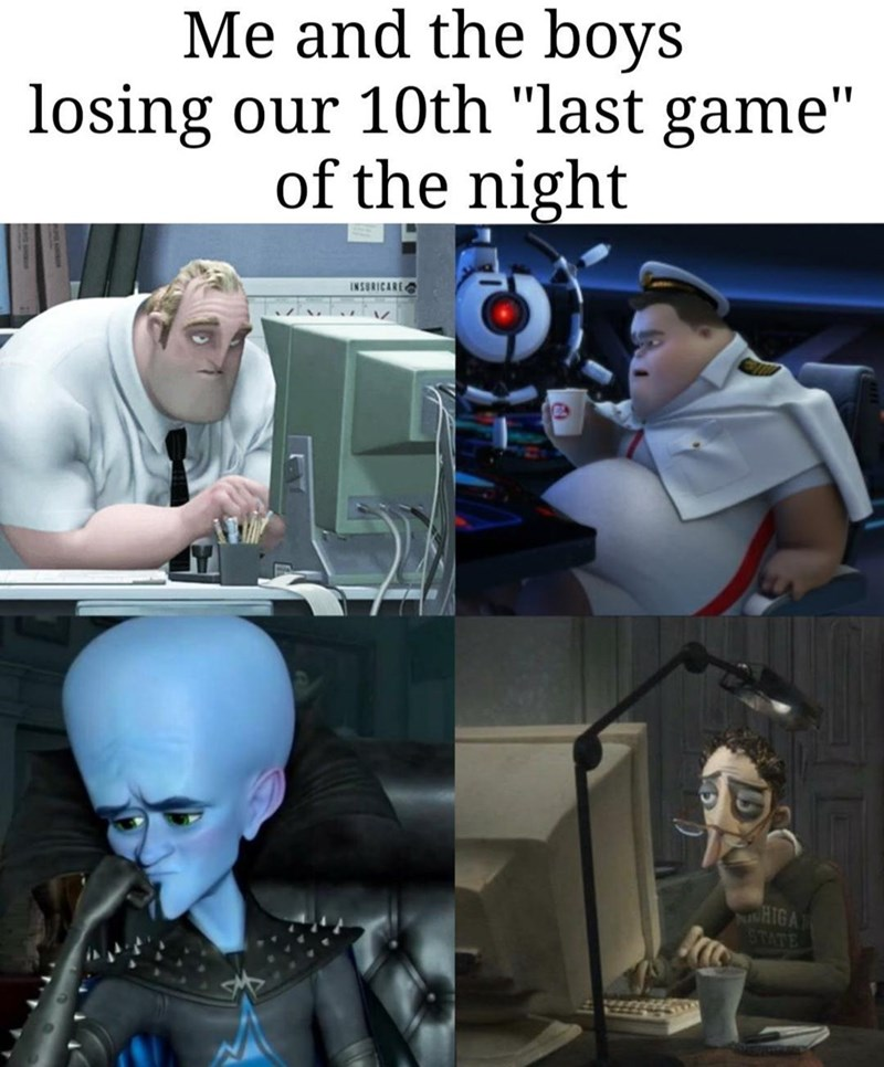 """Machine - Me and the boys losing our 10th """"last game"""" of the night INSURICARE HIGA 1STATE"""