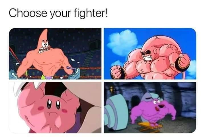 Cartoon - Choose your fighter!