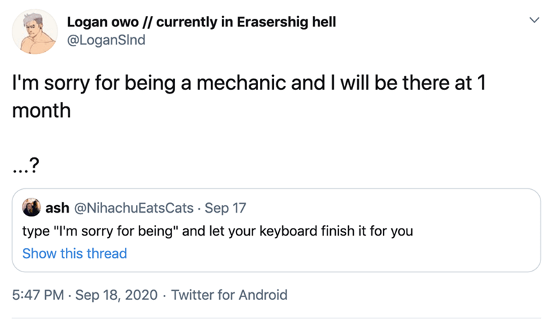 """Text - Logan owo /