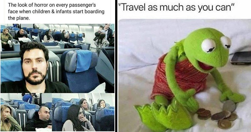 Funny memes about traveling