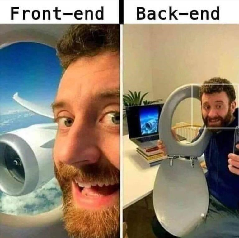 Facial hair - Front-end Back-end