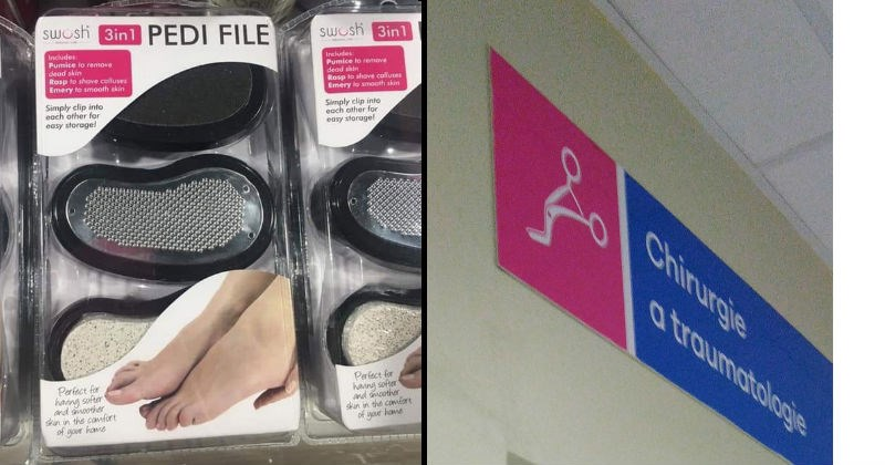 Funny design fails and funny signs