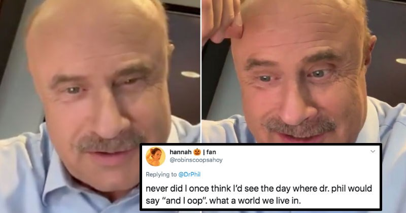 Dr. Phil confessional has all the funny sound bites you could ever imagine.