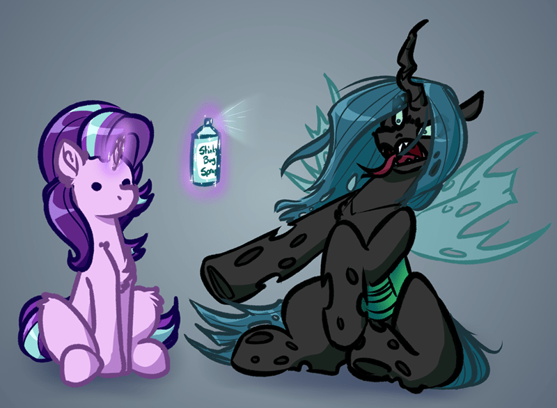 starlight glimmer witch taunter chrysalis changelings - 9555139072