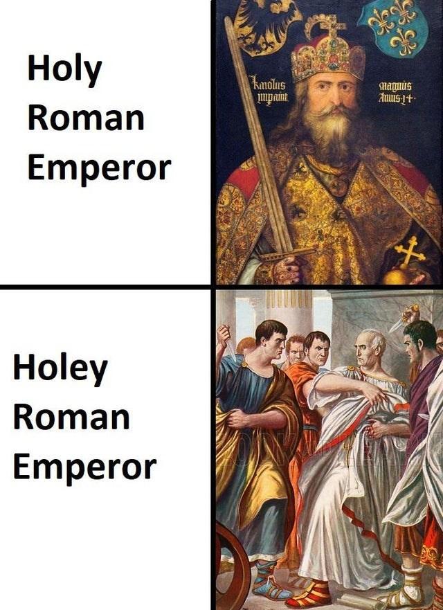 History - Holy kanolus impaint magnis Auus-1+ Roman Emperor Holey Roman Emperor