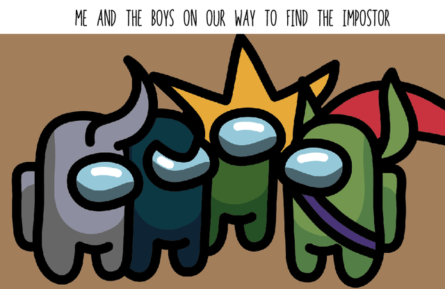 Font - ME AND THE BOYS ON OUR WAY TO FIND THE IMPOSTOR