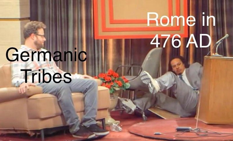 Furniture - Rome in 476 AD Germanic Tribes
