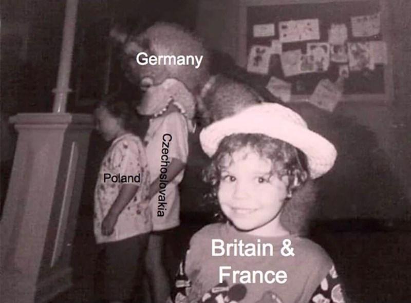 Photograph - Germany Poland Britain & France Czechoslovakia