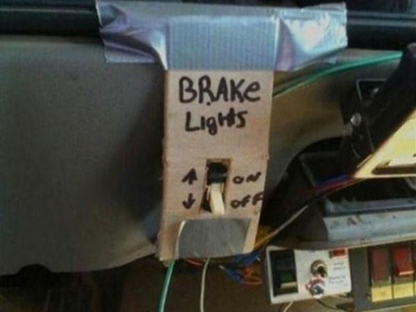 Bumper - BRAKE Lights 20 OFF