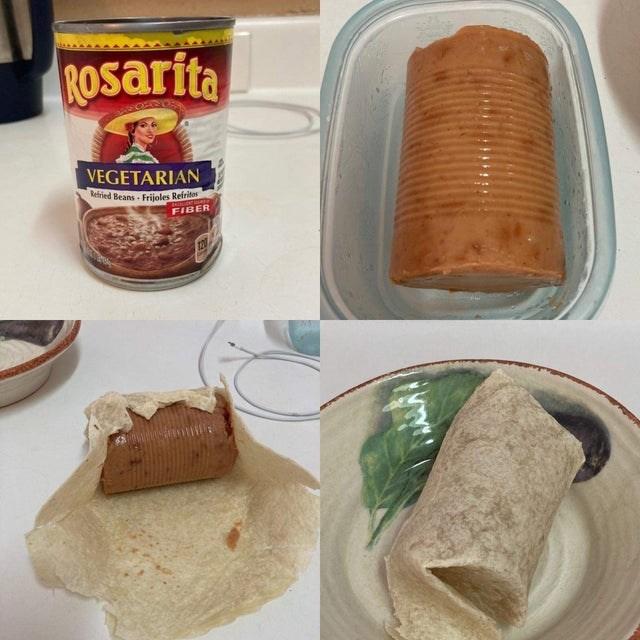 Food - ROsarita VEGETARIAN Refried Beans Frijoles Refritos FIBER 120