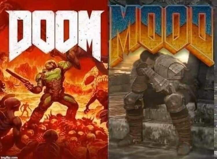 Pc game - DOOM MONO