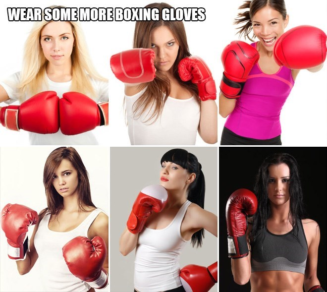 Boxing glove - WEAR SOME MORE BOXING GLOVES
