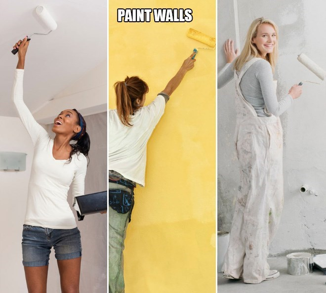 Clothing - PAINT WALLS