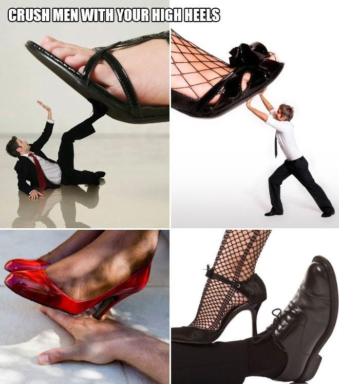 Footwear - CRUSH MEN WITH YOUR HIGH HEELS