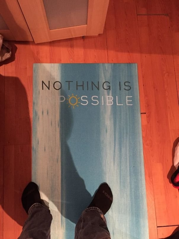 Text - NOTHING IS POSSIBLE 1ON