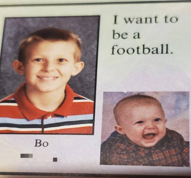 Face - I want to be a football. Во