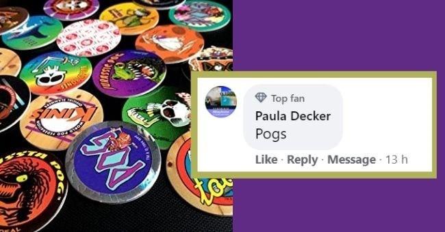 Games - Top fan INI Paula Decker Pogs Like Reply · Message 13 h URASSIC