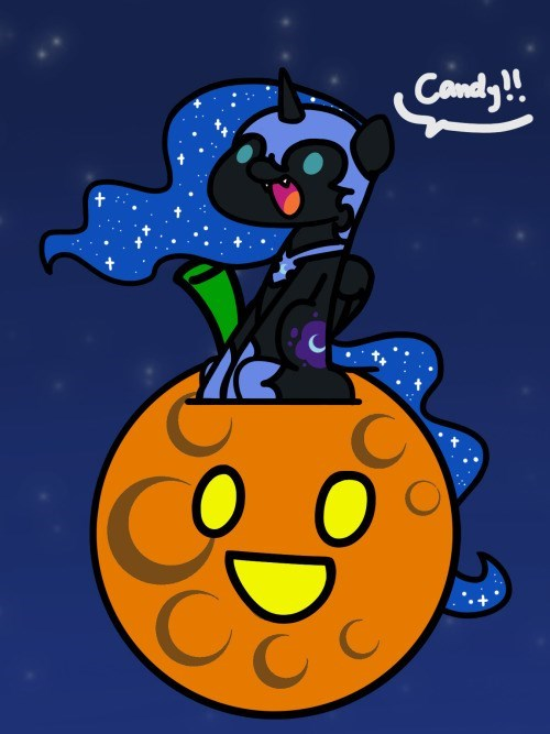 nightmare moon halloween princess luna flutterluv - 9558319616