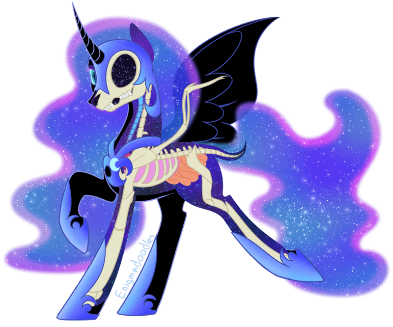 nightmare moon halloween princess luna enigmadoodles - 9558570496