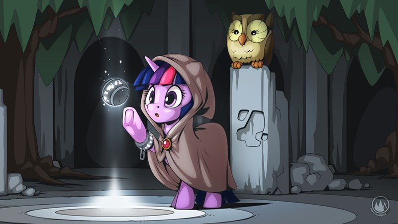 twilight sparkle owlowiscious mystic alpha - 9558742528